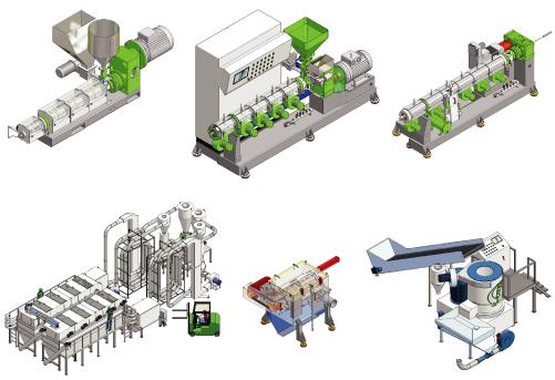 macchine ed impianti per la lavorazione della plastica