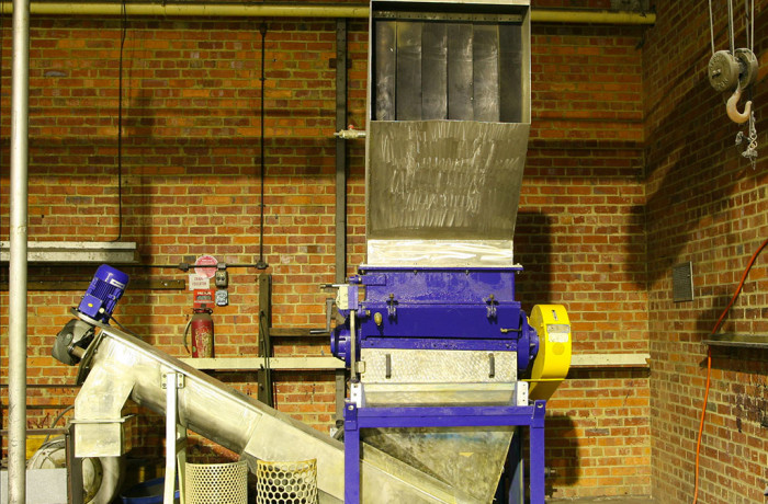 GRINDING AND WASHING LINE MECCANOPLASTICA 800 31-80 A