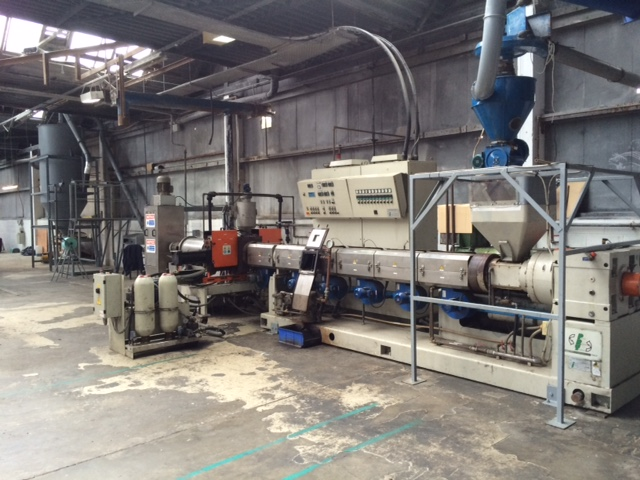 PELLETIZING LINE IN EXCELLENT CONDITIONS PRT 125