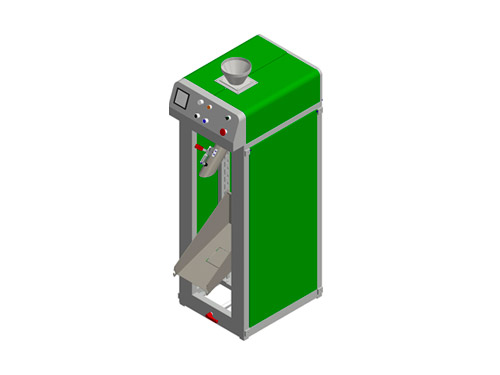 SACKING WEIGHING MACHINES FOR GRANULES, SLIDING MATERIALS AND POWDERS